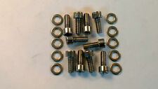 Toyota supra mkiv 2JZ-GTE twin turbo acier inoxydable spark plug cover bolts