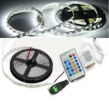 5M SMD 5730 5630 12V 60W LED Light Strip Full Kit+IR Dimmer Controller+5A power