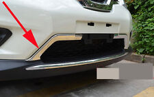 Chrome Front Grille Molding Cover Trim for 2014-2016 Nissan X-Trail Rogue 2015