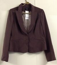 Principles Brown Ladies Jacket /Blazer  Size 14 New With Tags