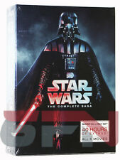 Star Wars: The Complete Saga (Blu-ray, 2011, 9-Disc, Boxed Set) NEW & SEALED