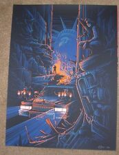 ESCAPE FROM NEW YORK Snake I Thought YouWere Dead movie poster print Dan Mumford