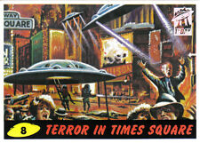 MARS ATTACKS ARCHIVES 1ST DAY PARALLEL CARD 8