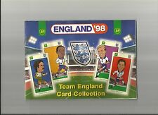 England World Cup Squad1998: BP 25 Cards Full Collection in official booklet