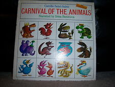 Wonderland RLP-1470 Camille Saint-Saens - Carnival of the Animals 1960's 12""
