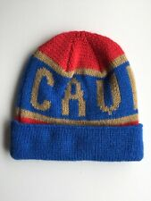 C.E CAV EMPT CAVEMPT KNIT BEANIE HAT BLUE MADE IN JAPAN 100% AUTH RRP £60