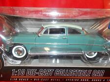 Highway 61 Hudson Hornet 1953 surf green with off white roof 1:18 Die Cast