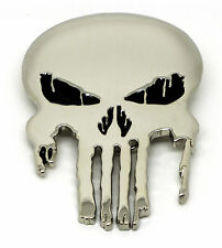 Marvel's The Punisher Silver Skull Belt Buckle - UK Seller