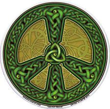 Celtic Peace - Window Art Sticker / Decal