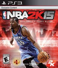 NBA 2K15 (Sony PlayStation 3, 2014) PS3 Complete - Works Great