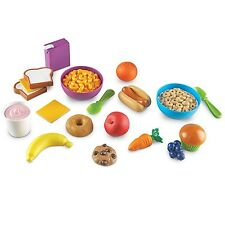 Kids Toys Learning Resources Sprouts Munch It Food Set Pretend Play Safe Plastic