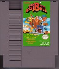 BAD NEWS BASEBALL NINTENDO 2 GAMES ORIGINAL NES HQ