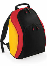 Nation flag backpack,red black yellow German rucksac football,cycling daytrip