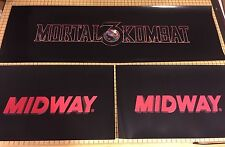 Mortal Kombat 3 Arcade Control Panel Box Art Artwork MK3 UMK3 CPO Midway