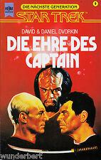 *- Star TREK die nächste GENERATION -Die EHRE des CAPTAIN- D&D DVORKIN tb (1995)