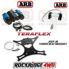 ARB Twin Air Compressor 12 Volt Teraflex Under Seat Jeep JK Mount & ARB Manifold