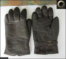 WWII ORIGINAL GERMAN WEHRMACHT OFFICERS LEATHER GLOVES