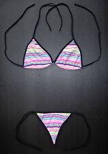 Sexy G-STRING BIKINI Multi Coloured Ladies Thong Beachwear Swimwear Swimsuit