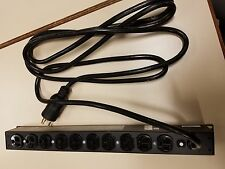 APC Basic Rack PDU AP9564, 10 Outlet, 120V, 20A, Power Strip, TESTED