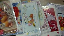 20 pc greeting cards  with envelopes  assorted occasions new