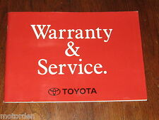 Toyota CAMRY 5S-FE & 3VZ-FE engines Service Manual 1993 Australia, FREE POST