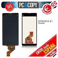 Pantalla COMPLETA LCD+TACTIL Sony Xperia Z1 compact M51w D5503 ORIGINAL NUEVA E