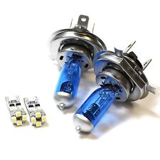 55w ICE Blue Upgrade Xenon High/Low/Canbus LED Side Light Bulbs Set