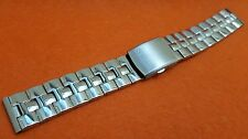 20mm Citizen eco drive fishbone gents mens watch stainless steel bracelet  STRAP