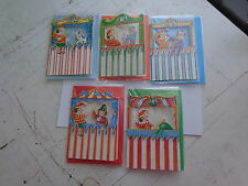 5x punch and judy mini blank cards