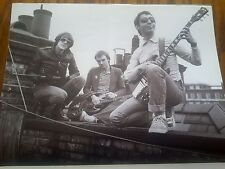 The Police Sting 1977 Shot for First Single Page Poster Music Magazine 32x24cm
