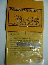 Details West PL-207 PILOT PLOW: ATSF, 2ND. GEN. HOODS  HO