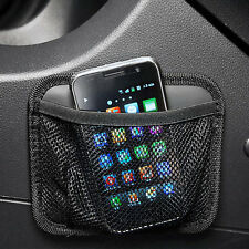 NAPOLEX Car Net Pocket Motor Truck Interior Curved Surface Smartphone Accessory