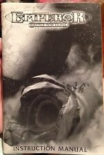 EMPEROR BATTLE FOR DUNE INSTRUCTION MANUAL, 69 pages, Very Good Condition