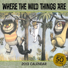 WHERE THE WILD THINGS ARE 2013 CALENDAR! SEALED!50TH ANNIVERSARY! NO LONGER MADE