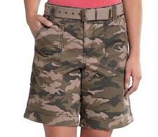 Carhartt - 8 (M) - NWT $45 - Camo Green El Paso Cotton Ripstop Camouflage Shorts