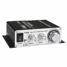 Lepai Lepy LP-2024A+ 2x20W Hi-Fi AMP Class-T Digital Stereo Amplifier + Adapter