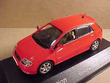J-collection 1/43 Diecast Toyota Corolla 5-Door Hatchback, RHD, Red  #JC007