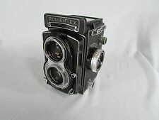 Vintage Rolleiflex T Type 3 TLR Film Camera Carl Zeiss f3.5 75mm Tessar Lens