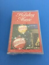 NEW Sealed Cassette Winston (Cigarette) Holiday Music 1992 Collection Vol. 1
