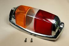 MERCEDES Benz 190 SL & Ponton: LUCE POSTERIORE FANALE RETROVISORE ROSSO/GIALLO esecuzione tardiva