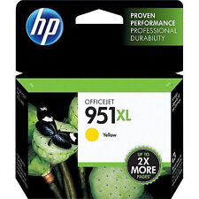 HP 951 XL Yellow High-Yield Ink for 8100 8600 printer EXP DATE 11/2018