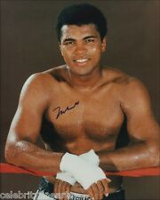 Muhammad Mohammed Ali Preprinted Photo Boxer Champ Picture Autographed Print