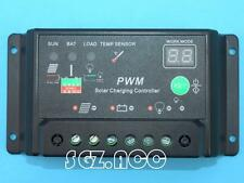 Digital PWM 10A Solar Panel Charger Controller Regulator 12V 24V Autoswitch 240W