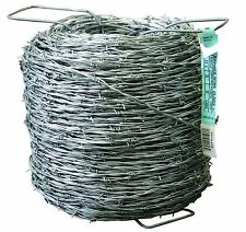 1320 ft. 12-1/2 Gauge 2-Point Class I Barbed Wire Fence 440 Yard Roll of Fencing