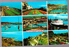 used  Postcard Kent, Multiview Folkstone, 10209, pm 1981