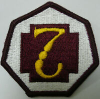 US ARMY 7TH MEDICAL COMMAND PATCH COLOR