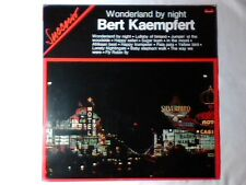 BERT KAEMPFERT Wonderland by night lp ITALY UNIQUE COUNT BASIE HENRY MANCINI