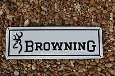 BROWNING FIRE ARM GUN SHOP SIGN 9MM HUNTING 725 BUCK MARK1911 LOGO Free Shipping