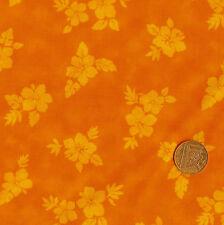 Bernatex-Shadow Play 529/30 ARANCIONE 100% Cotone Fat Quarter