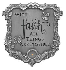 Mustard Seed Visor Clip (72761)  NEW With Faith All Things Are Possible